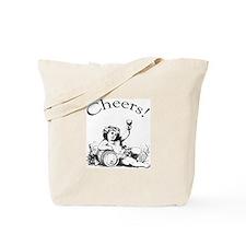 English Toast Wine Tote Bag