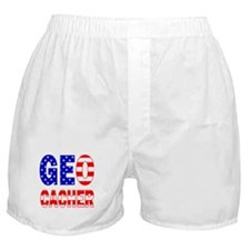 USA Geocacher Boxer Shorts