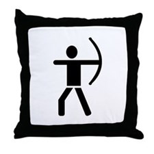Archery Throw Pillow