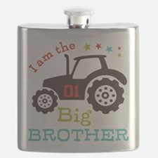 Big Brother Farmer Tractor Flask