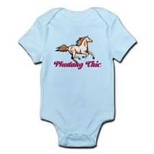Pink Mustang Chic Body Suit