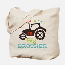 Big Brother Farmer Tractor Tote Bag