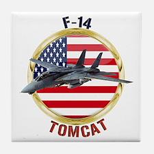 F-14 Tomcat Tile Coaster