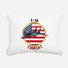 F-14 Tomcat Rectangular Canvas Pillow