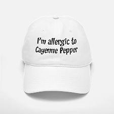 Allergic to Cayenne Pepper Baseball Baseball Cap