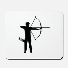 Archery archer Mousepad