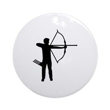 Archery archer Ornament (Round)