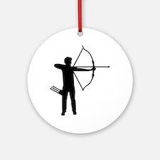 Archery archer Ornament (Round)