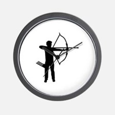 Archery archer Wall Clock