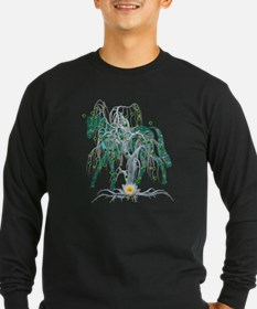 Horse In Winter Forest T