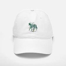 Horse In Winter Forest Baseball Baseball Cap