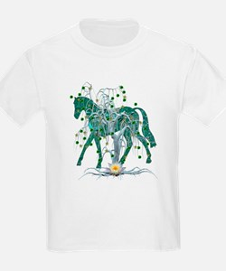 Horse In Winter Forest T-Shirt