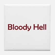 Bloody Hell Tile Coaster
