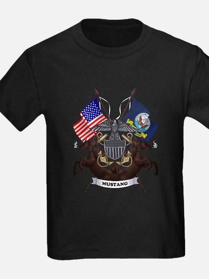 Navy Mustang Emblem T