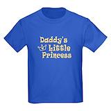 Daddy\'s little princess Kids T-shirts (Dark)