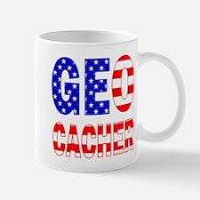 USA Geocacher Mug