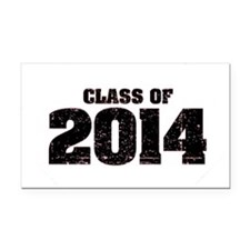 Class of 2014 Rectangle Car Magnet