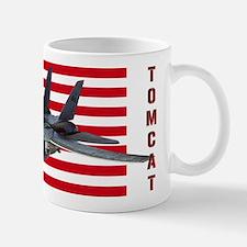 F-14 Tomcat on a USA flag Mugs