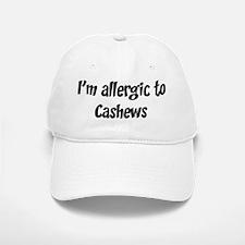Allergic to Cashews Baseball Baseball Cap