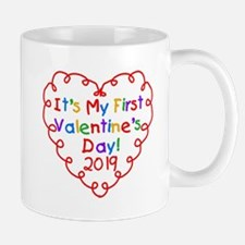 Heart 1st Valentine Day Mug