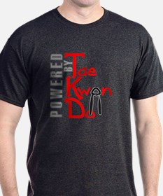 Powered by Tae Kwon Do T-Shirt