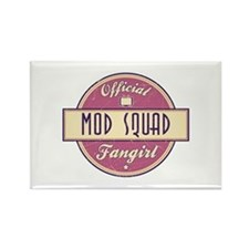 Official Mod Squad Fangirl Rectangle Magnet