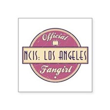 Official NCIS: Los Angeles Fangirl Square Sticker