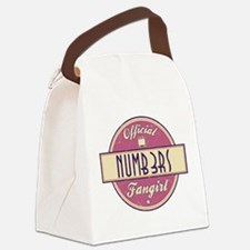 Official Numb3rs Fangirl Canvas Lunch Bag