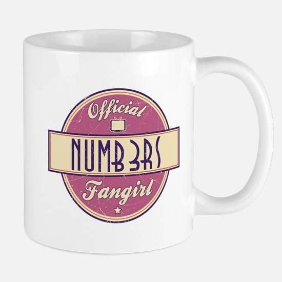 Official Numb3rs Fangirl Mug