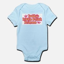 Daddy's Little Polish Princes Infant Bodysuit