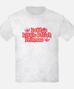 Daddy's Little Polish Princes T-Shirt