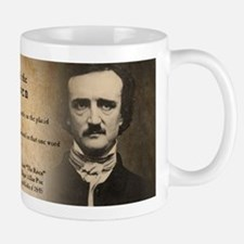 Edgar Allan Poe and Raven Mugs