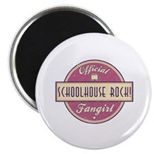 """Official Schoolhouse Rock! Fangirl 2.25"""" Magnet (1"""