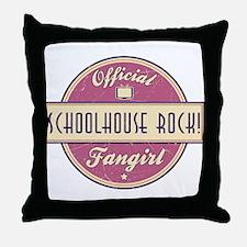 Official Schoolhouse Rock! Fangirl Throw Pillow