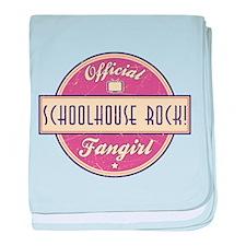 Official Schoolhouse Rock! Fangirl Infant Blanket