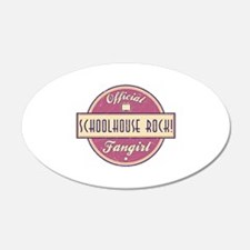 Official Schoolhouse Rock! Fangirl 22x14 Oval Wall