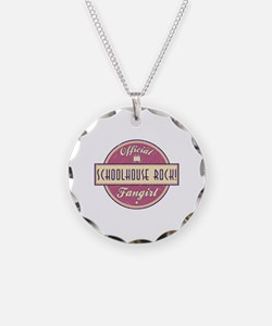 Official Schoolhouse Rock! Fangirl Necklace