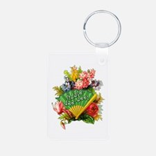 FIDDLE DEE DEE Roses Aluminum Photo Keychain