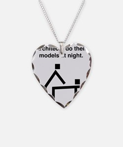 Architects do their models at Necklace