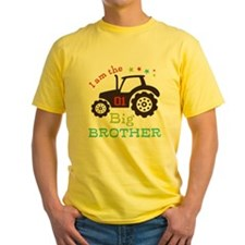 Big Brother Farmer Tractor T-Shirt