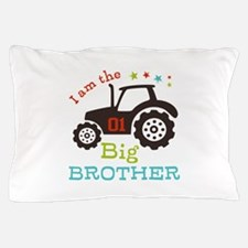 Big Brother Farmer Tractor Pillow Case