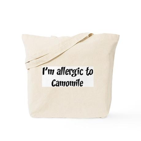 Allergic to Camomile Tote Bag