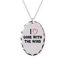 I Love Gone With the Wind Necklace