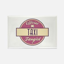 Official Taxi Fangirl Rectangle Magnet