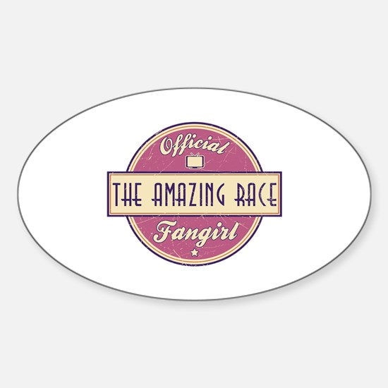 Official The Amazing Race Fangirl Oval Decal
