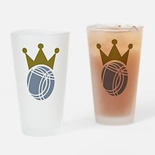 Boccia boule champion Drinking Glass