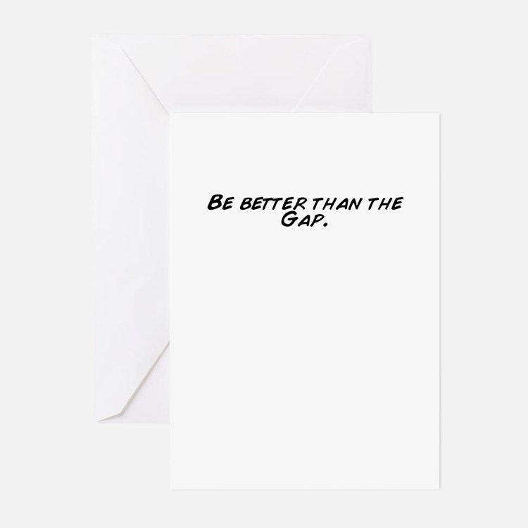 Cute Gap Greeting Cards (Pk of 20)