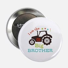 """Big Brother Farmer Tractor 2.25"""" Button (10 pack)"""