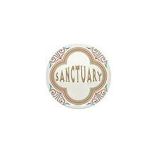 Sanctuary Mini Button