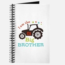 Big Brother Farmer Tractor Journal